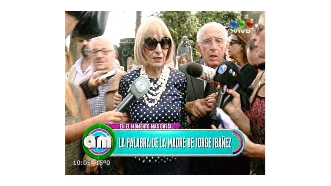 Habló la mamá de Jorge Ibáñez: Mi hijo fue una persona de bien y muy feliz