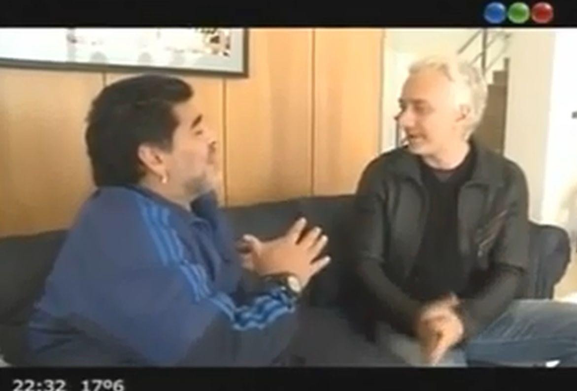 Arrancó la nueva temporada de Extreme Makeover con la presencia de Maradona