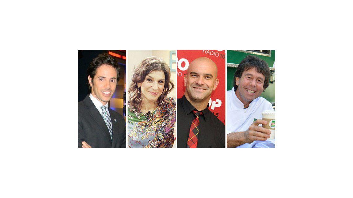 El panel de la mañanas del 9: Dalia, Nacho Goano y Robertito serían los elegidos