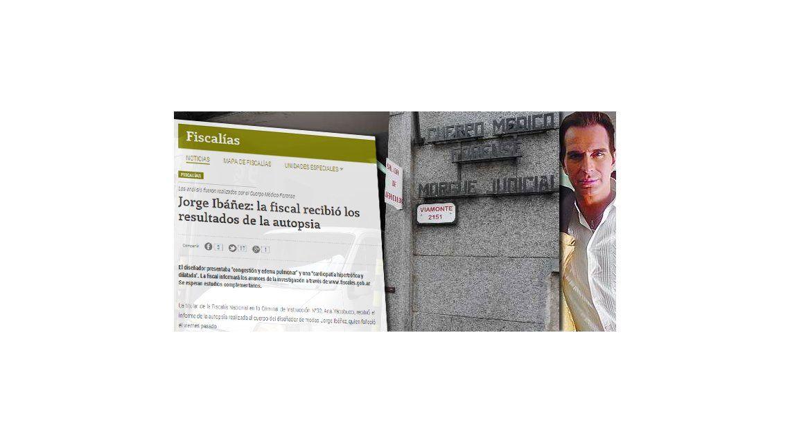 Según los forenses, Ibáñez presentaba congestión y edema pulmonar