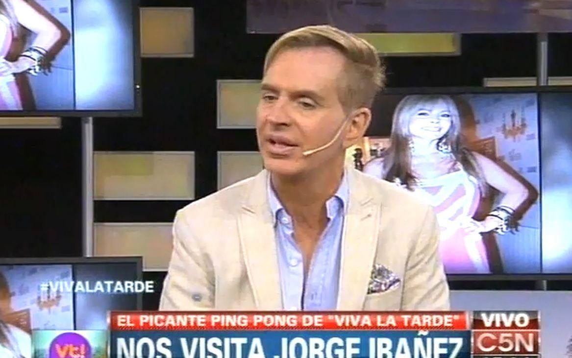 Murió Jorge Ibáñez: su última entrevista en televisión