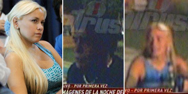 Así fue el reencuentro de Ojeda y Maradona en frente de Rocío Oliva en Año Nuevo