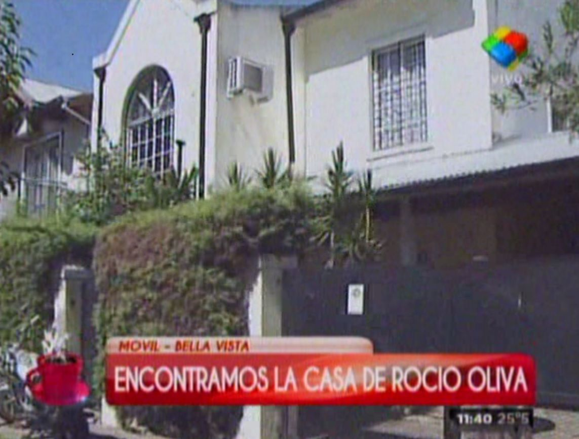 Sin trabajar, Rocío Oliva se mudó a una casa gigante en una zona residencial
