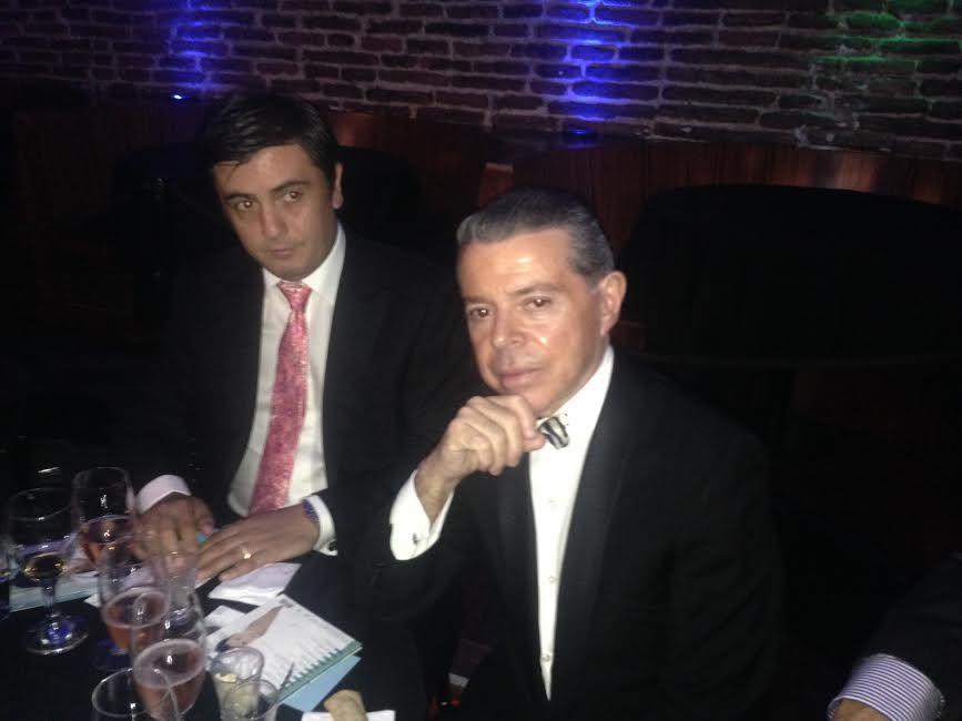 Julio David presentó su disco y el juez Oyarbide estuvo en la platea