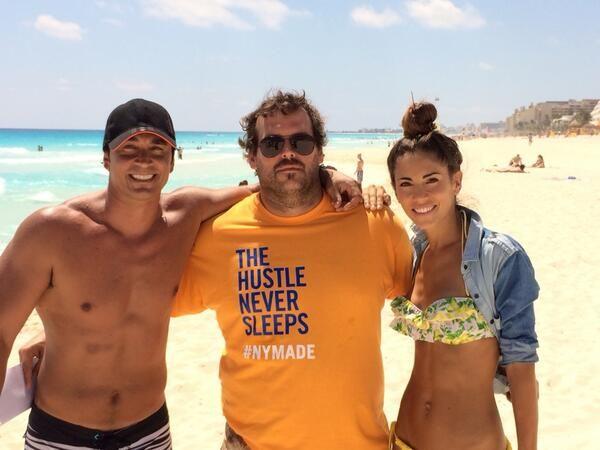 Empezaron las grabaciones de Camino al amor en Cancún: el backstage