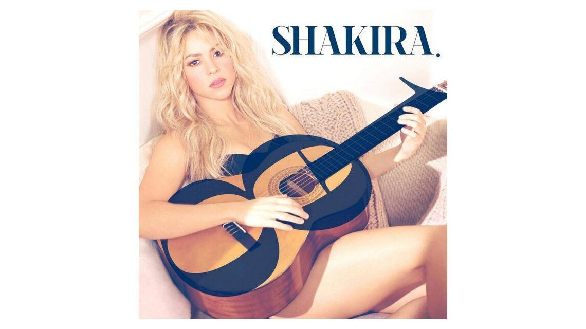 La emoción de Shakira al presentar la tapa de su nuevo disco, luego de ser mamá