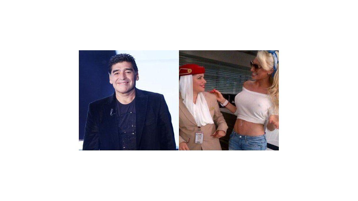 Rocío Oliva, fuera de juego: llega la Griega Victoria Xipolitakis a ver a Maradona