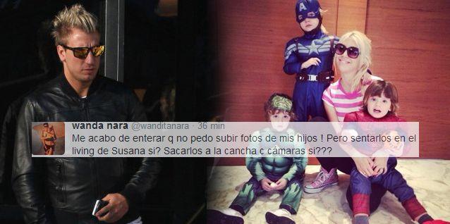 Combo Wanda: le saca fotos a sus hijos pero Maxi López le cobra multa