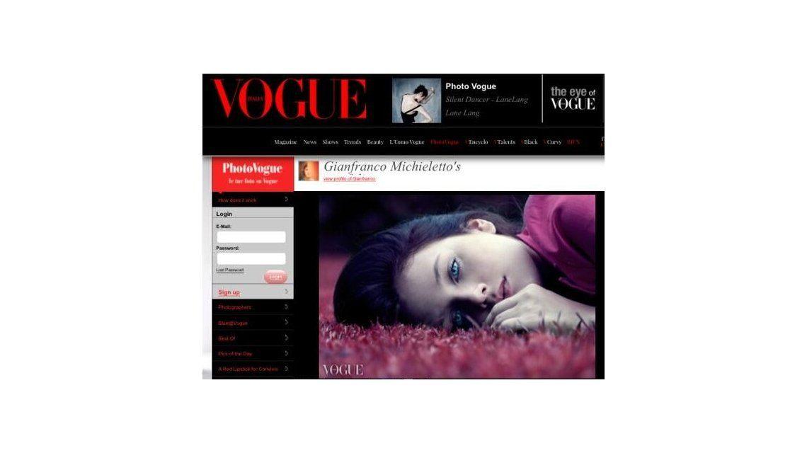 Barbie Vélez llega a la portada de Internet de Vogue en Italia con una producción