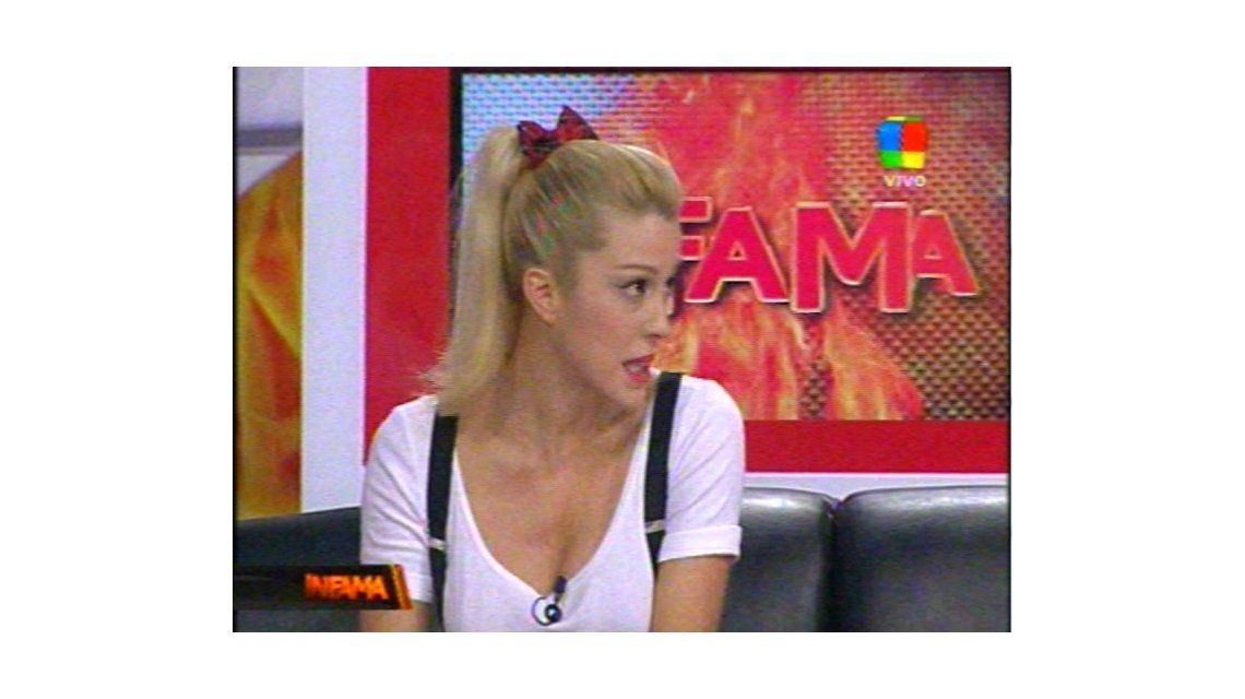La escandalosa pelea de Santiago del Moro y la mujer de Fantino en Infama