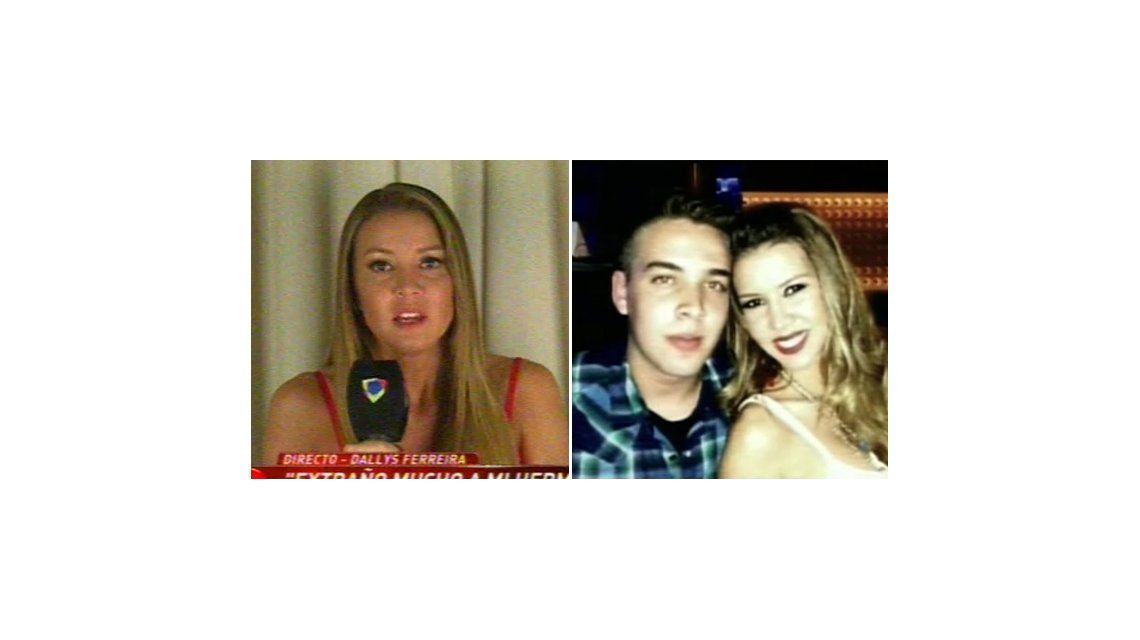 Dallys Ferreira: Con mi mamá extrañamos mucho a mi hermano