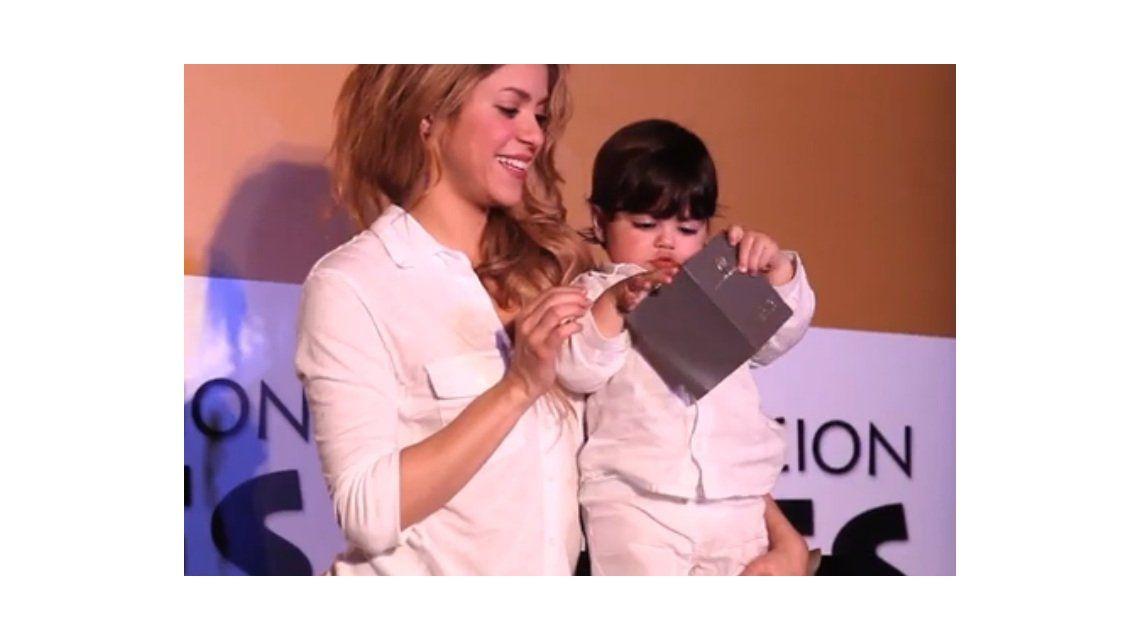 El tierno mensaje de Shakira y su hijo con Piqué en las redes sociales