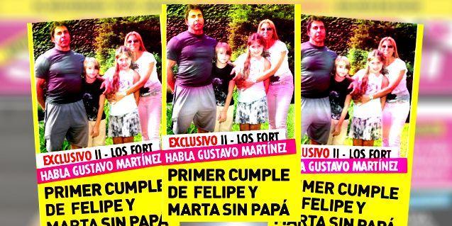 El primer cumpleaños de Felipe y Martita después de la muerte de Ricardo Fort