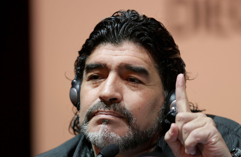Durante el Mundial, Diego Maradona trabajará para la cadena Telesur