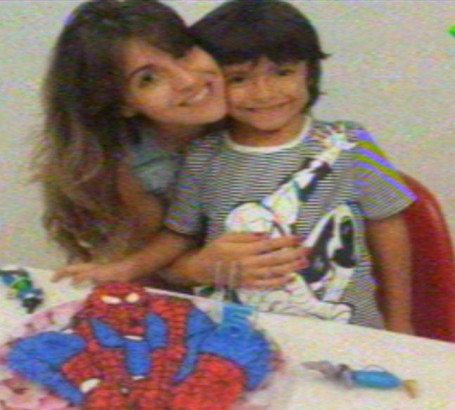 Los tiernos mensajes de Gianinna y el Kun por el cumpleaños de su hijo