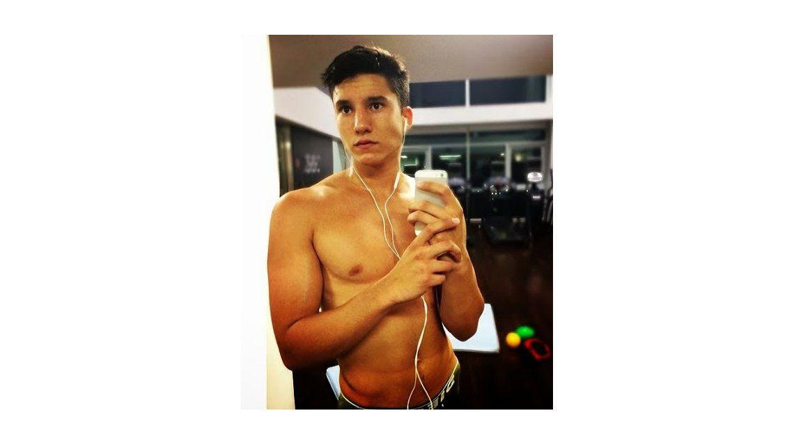 Francisco, el hijo de Tinelli, revoluciona las redes sociales con su físico