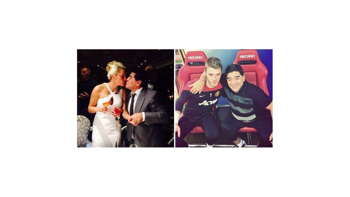De su propia medicina: Rocío habría engañado a Maradona con un arquero