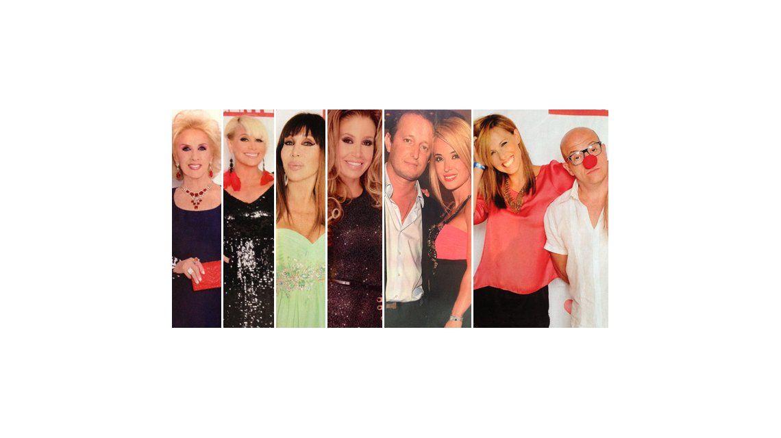 La moda de las famosas en la fiesta de la revista Gente en Mar del Plata