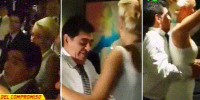 Maradona en su compromiso Con Rocío Oliva: Hagamos un accidente al año