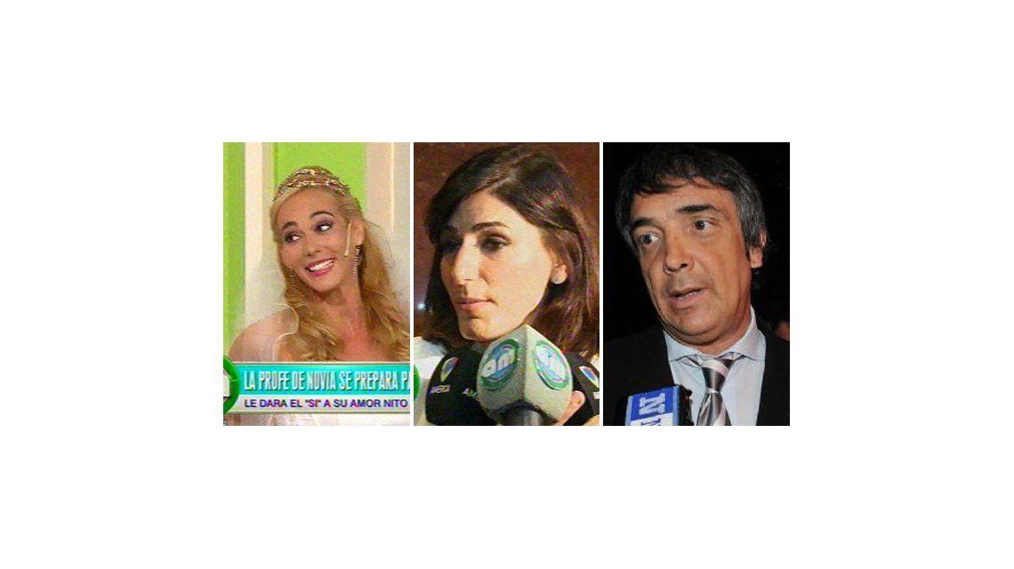 No tiene dignidad como mujer, dice la novia de Nito Artaza sobre Cecilia Milone