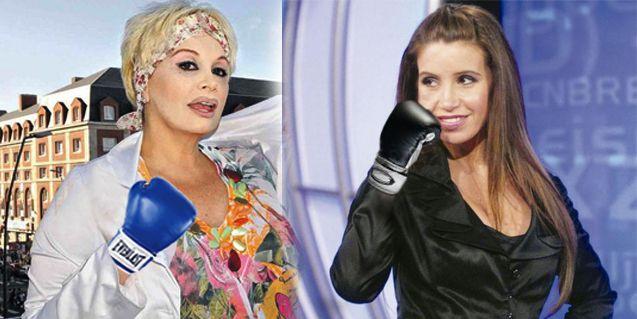 Carmen Barbieri y Florencia Peña, peleadísimas en la fiesta de Gente
