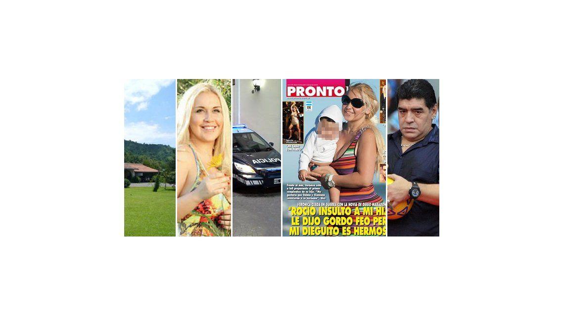 La policía en la casa de Ojeda: los abogados de Maradona pedirán indagatoria