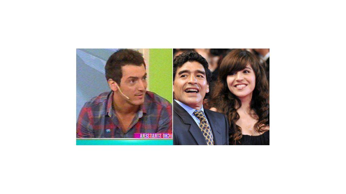 El novio de Gianinna Maradona: Preveíamos la noticia del embarazo