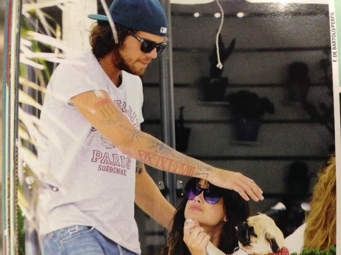 Las fotos de Vitto Saravia, mimosa junto a su nuevo novio en Uruguay