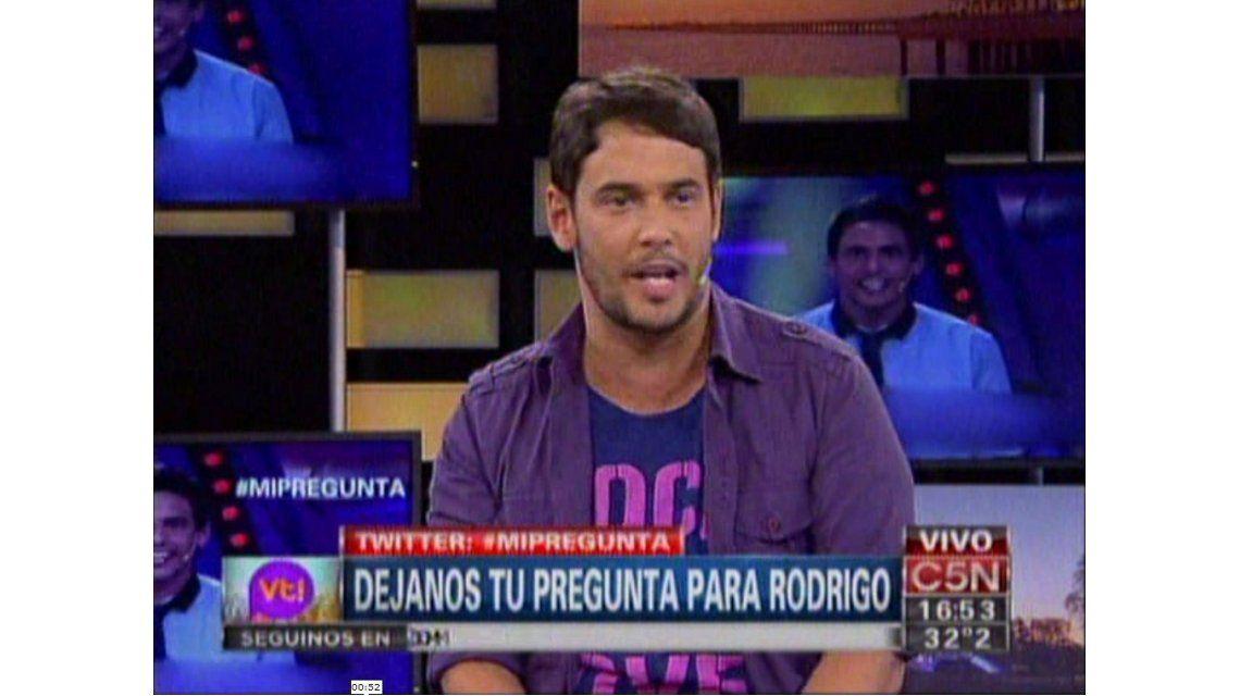 Rodrigo Lussich: Me gustaría conducir un programa de entretenimientos