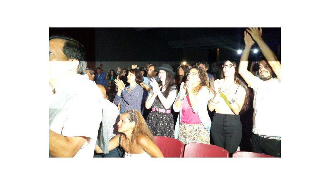 El reencuentro de Moria Casán y Sofía Gala después de la función de Sorpresas, anoche