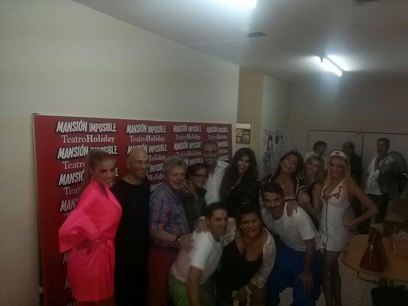 Jorge Rial, Loly Antoniale, Rocío y Morena visitaron la Mansión Imposible
