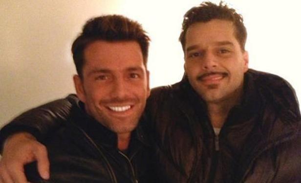 Federico Díaz, el supuesto novio de Ricky Martin, negó cualquier relación con él