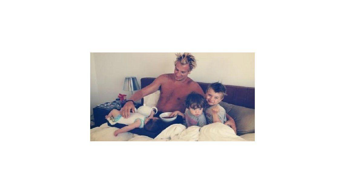 Maxi desmiente a Wanda: Los últimos días estuve en Milán con mis hijos