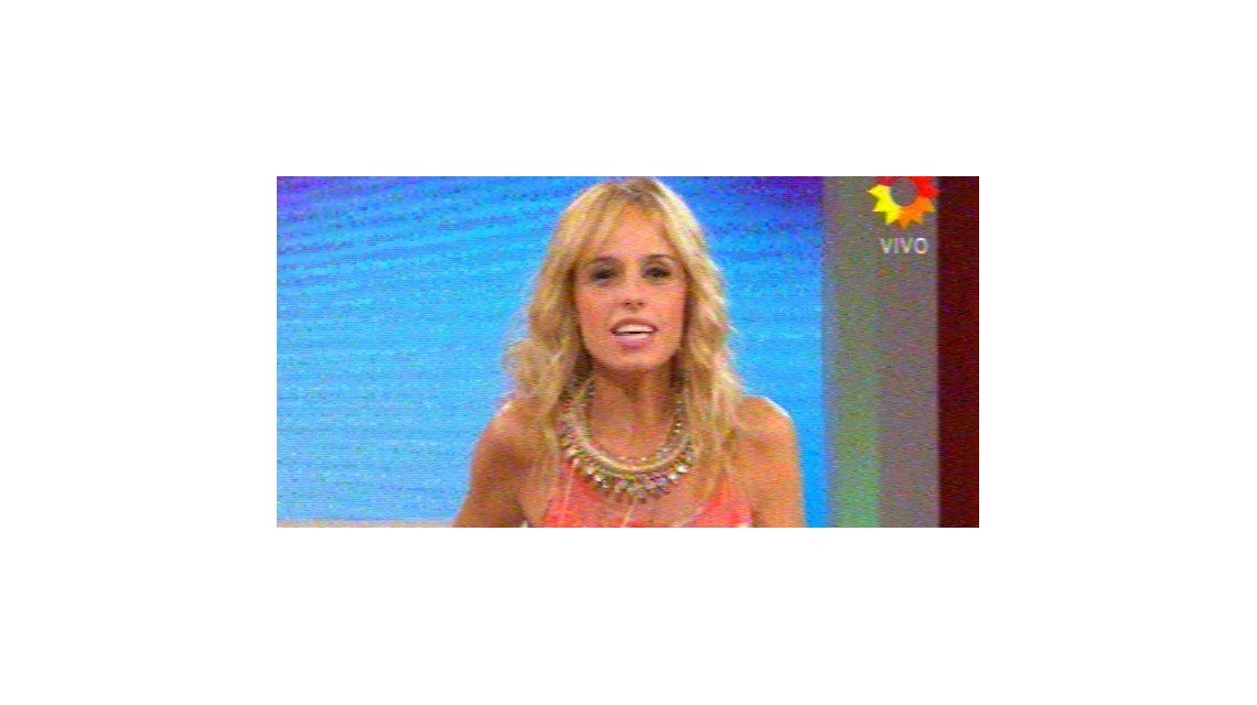 Mariana Fabbiani anunció en tele que está embarazada de su segundo hijo