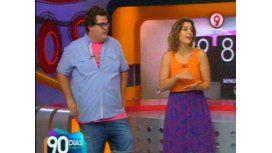 Así empezó 90 días, el programa de Darío Barassi y Dalia Gutmann en canal 9