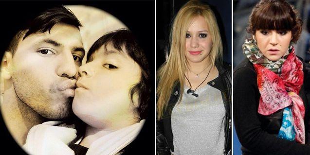 Gianinna lo logró: su hijo Benjamín visitó al Kun; pero Karina está en Argentina