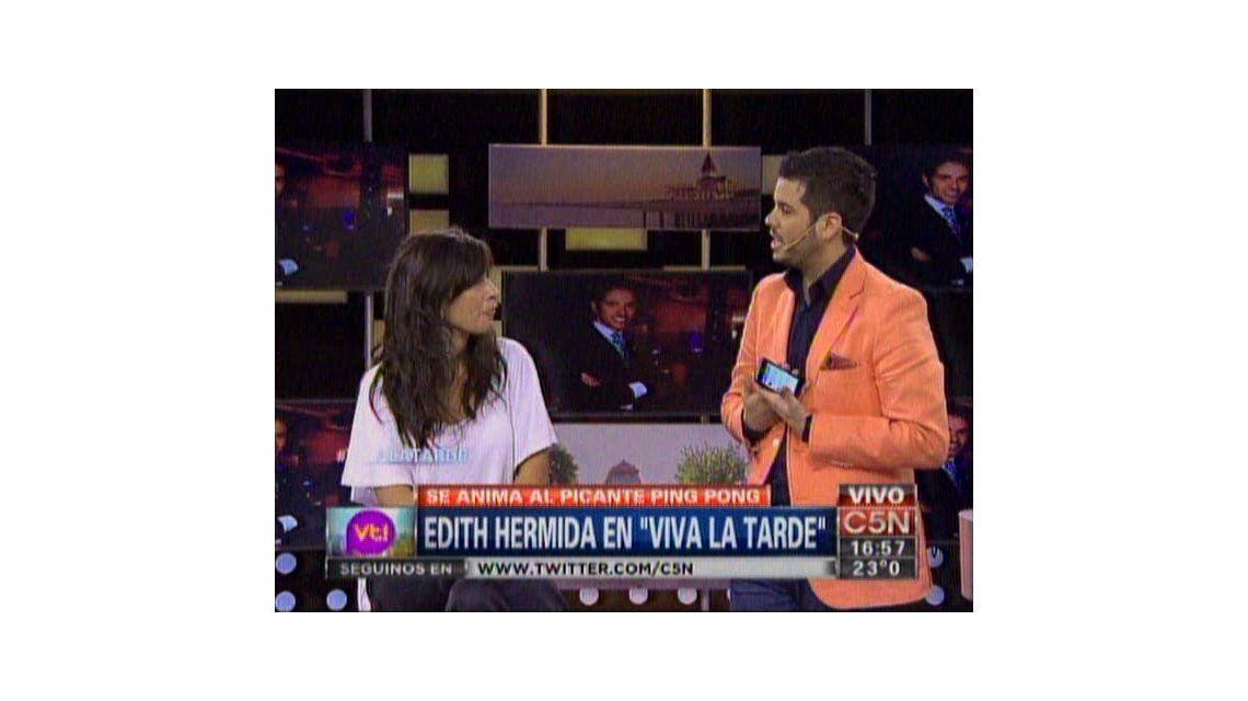 La picante frase de Edith Hermida a Nicolás Magaldi: Feinmann no te quiere