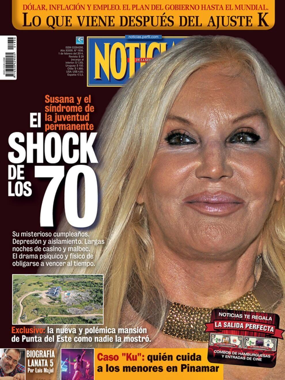 Otra imagen de Susana para el olvido: En una revista la mataron sin fotoshop
