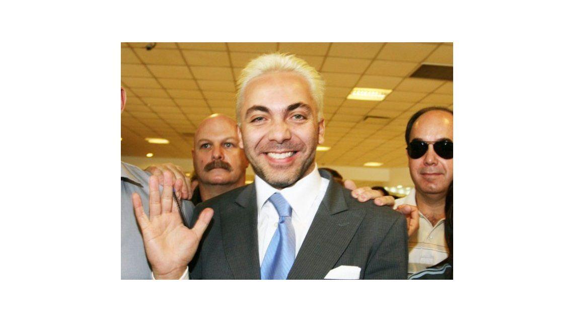 Cristian Castro con vértigo en la cola, la mostró toda en una nueva foto: ¡Mirá!