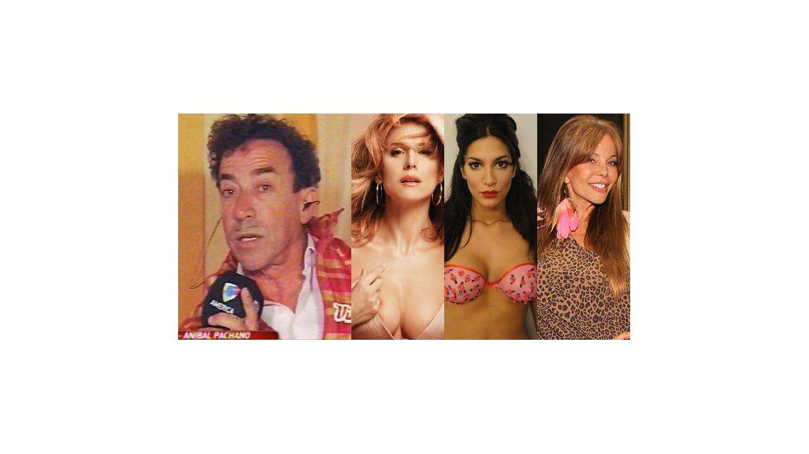 Pachano: Palmiero, Silvina Escudero y Alfano están eyectadas del espectáculo