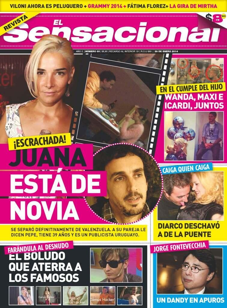 Las fotos de Juana Viale con su novio uruguayo... ¡Muy parecido a Valenzuela!
