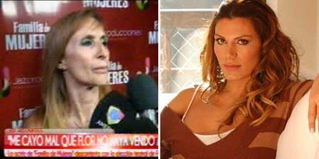 Gladys Florimonte, furiosa con Florencia de la V: Emilio Disi le llenó la cabeza