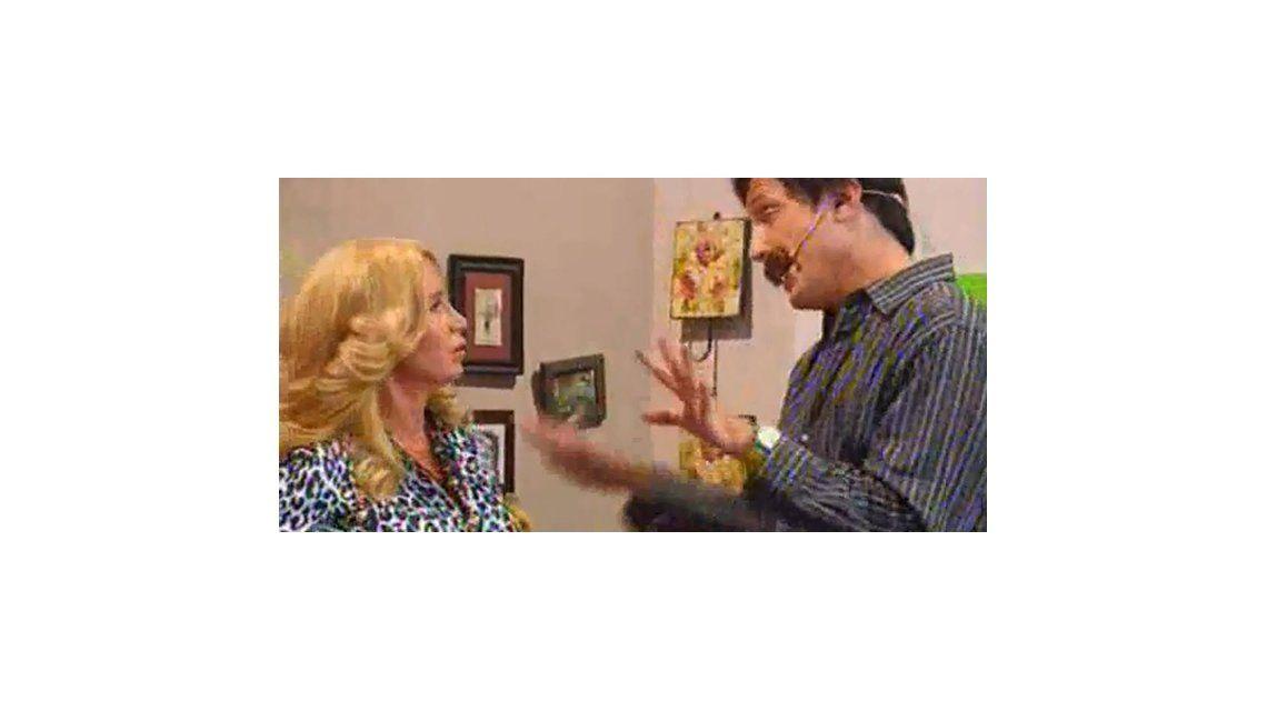 Florencia Peña volvió a ser Moni Argento por una noche en el programa de Marley