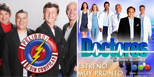 Doctores y Sin codificar, con fecha de estreno en la pantalla de Telefe