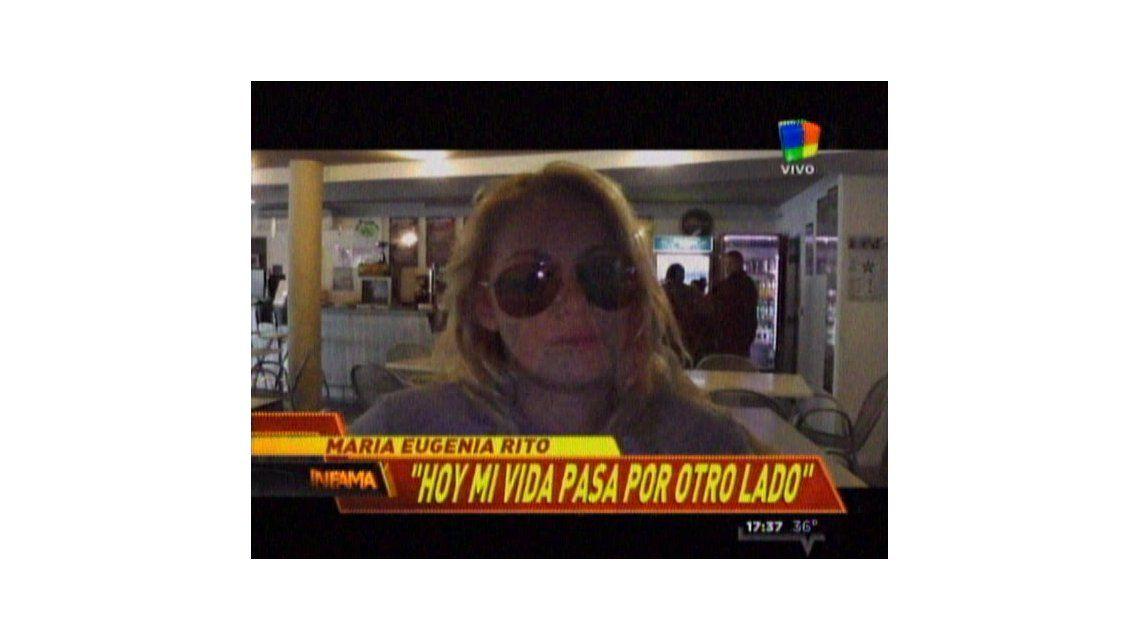 María Eugenia Ritó: Cometí excesos en mi vida y estoy muy arrepentida
