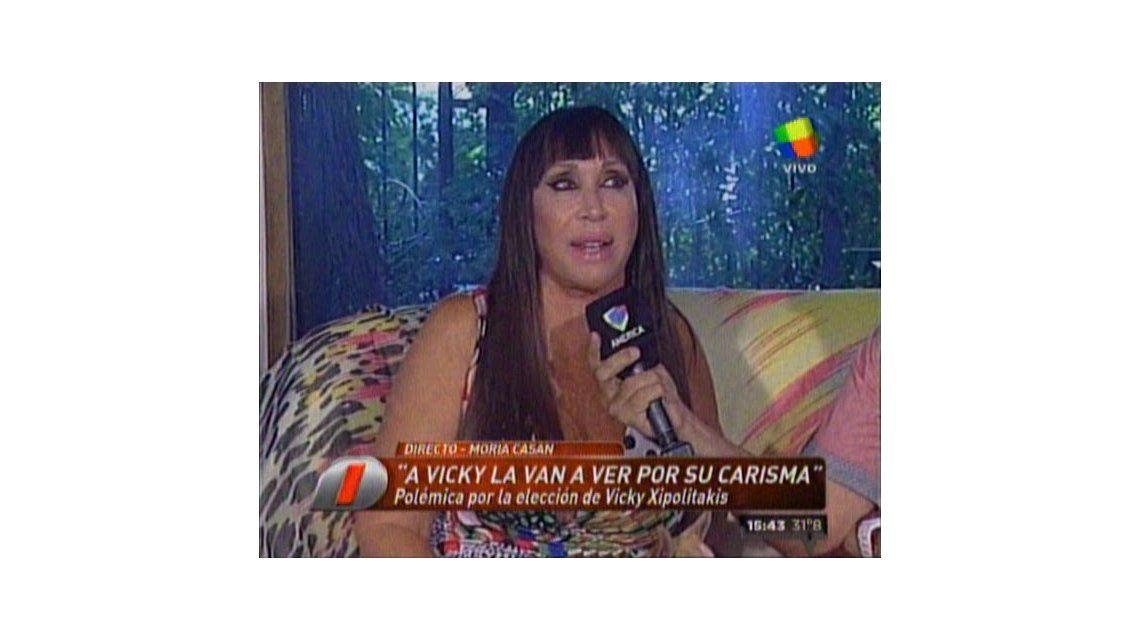 Moria Casán: La gente que va ver teatro de revista no es como la que va al Colón