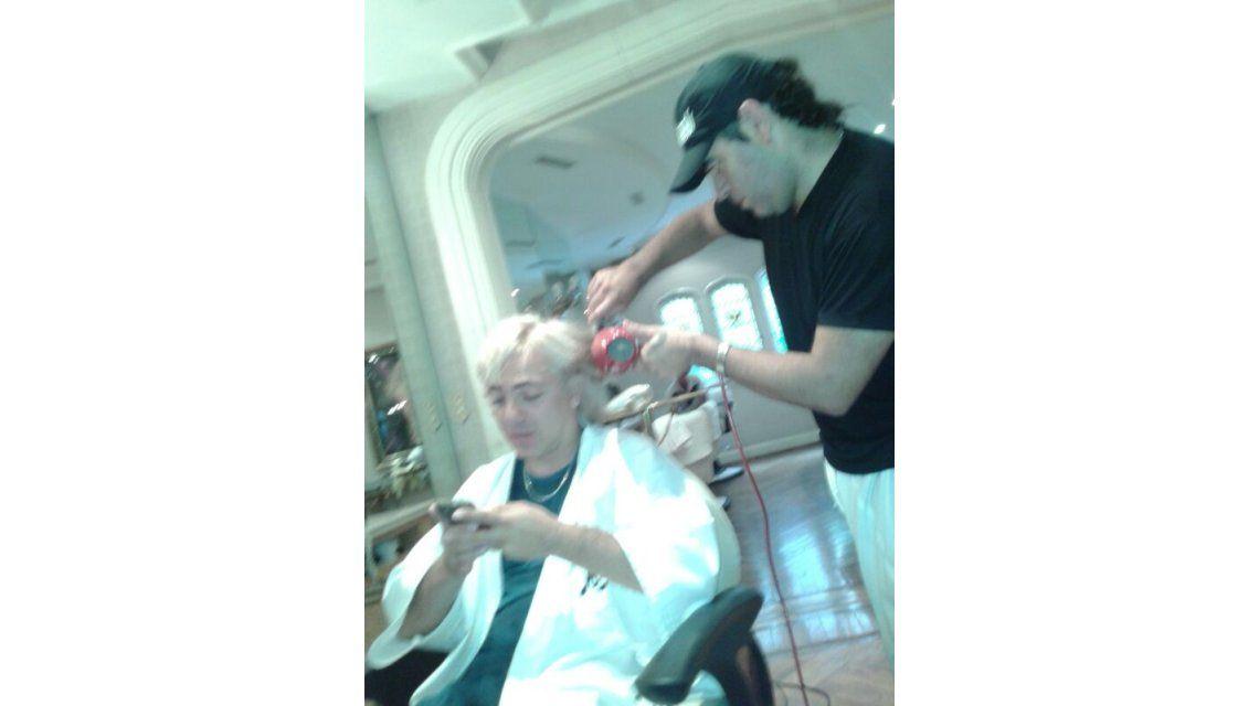 Cristian Castro no se rinde: quiere imitar el color de pelo de Susana Giménez