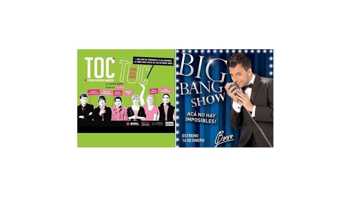 Toc Toc y Martín Bossi lideran la tabla de recaudaciones en Buenos Aires