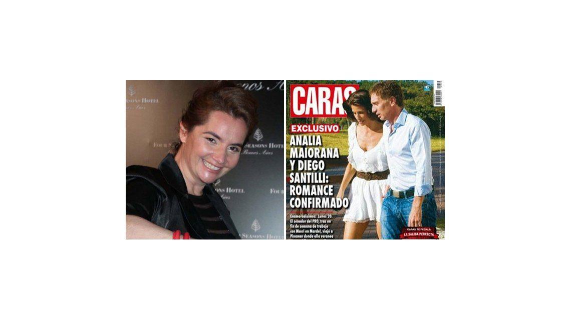 Santilli blanquea con Analía Maiorana, y su ex Nancy Pazos estalla en Twitter