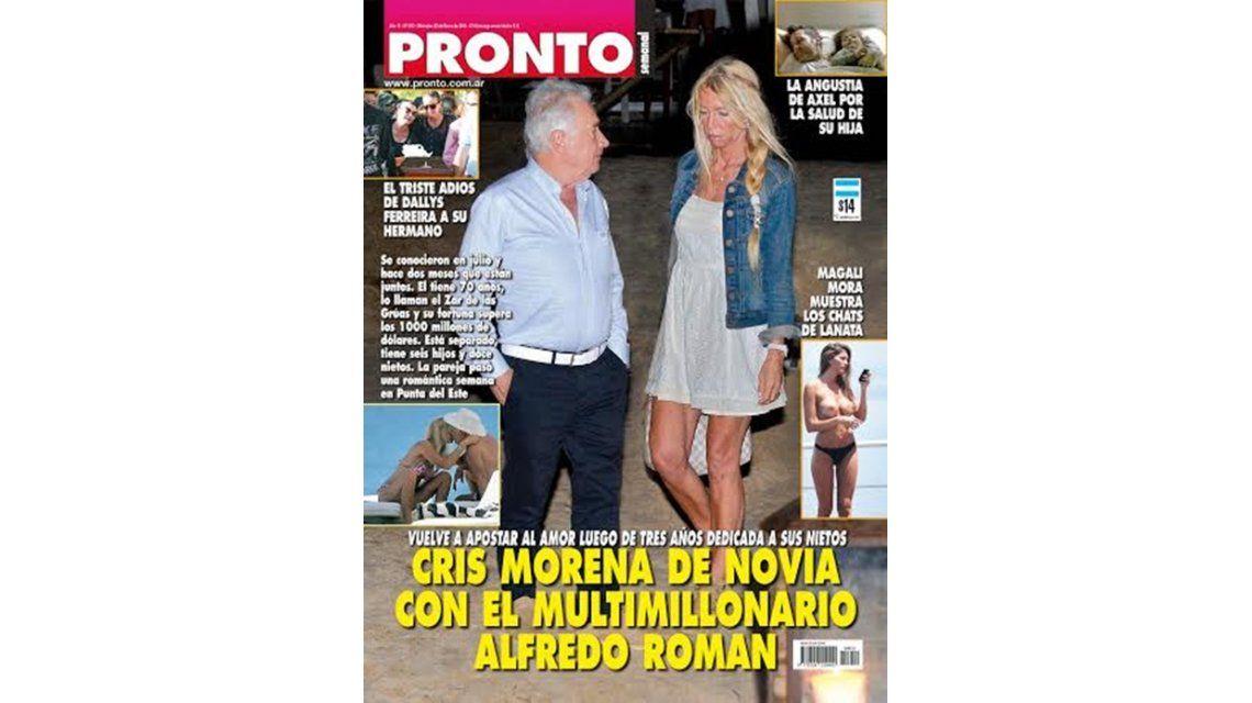 Cris Morena encontró el amor con un empresario multimillonario